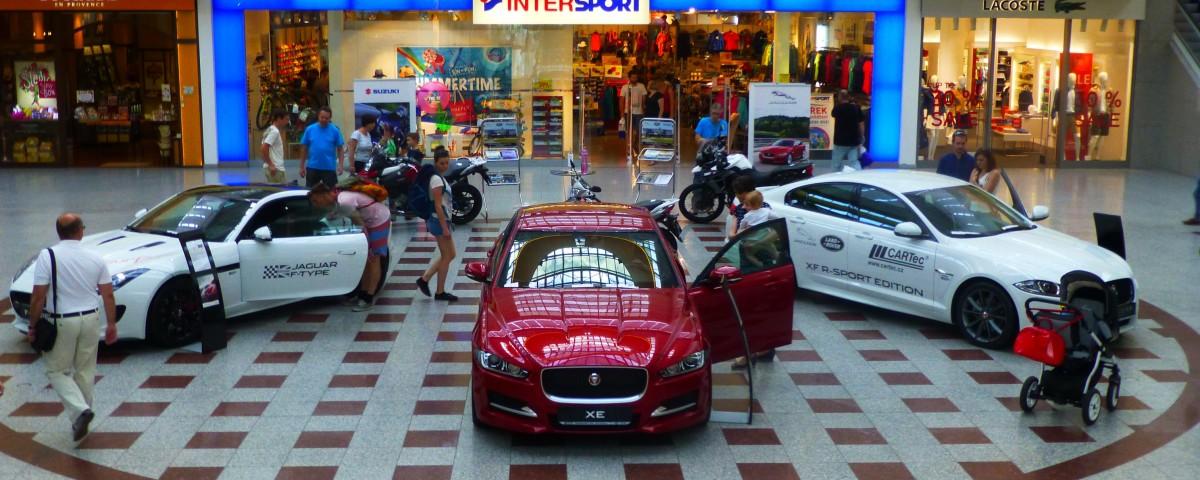 CARTec motor s.r.o | Prezentace Jaguar v nákupním centru OLYMPIA